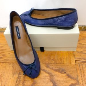 Margaux The Demi blue patent ballet flats, 9